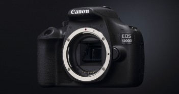 Canon EOS 1200d Body von schräg vorne