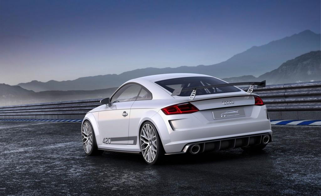 Audi TT quattro sport concept 2014 Heck