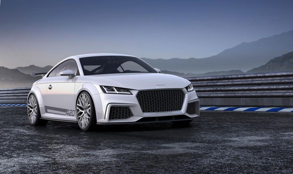 Audi TT quattro sport concept 2014 Front