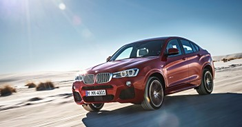 BMW X4 in Melbourne Rot metallic