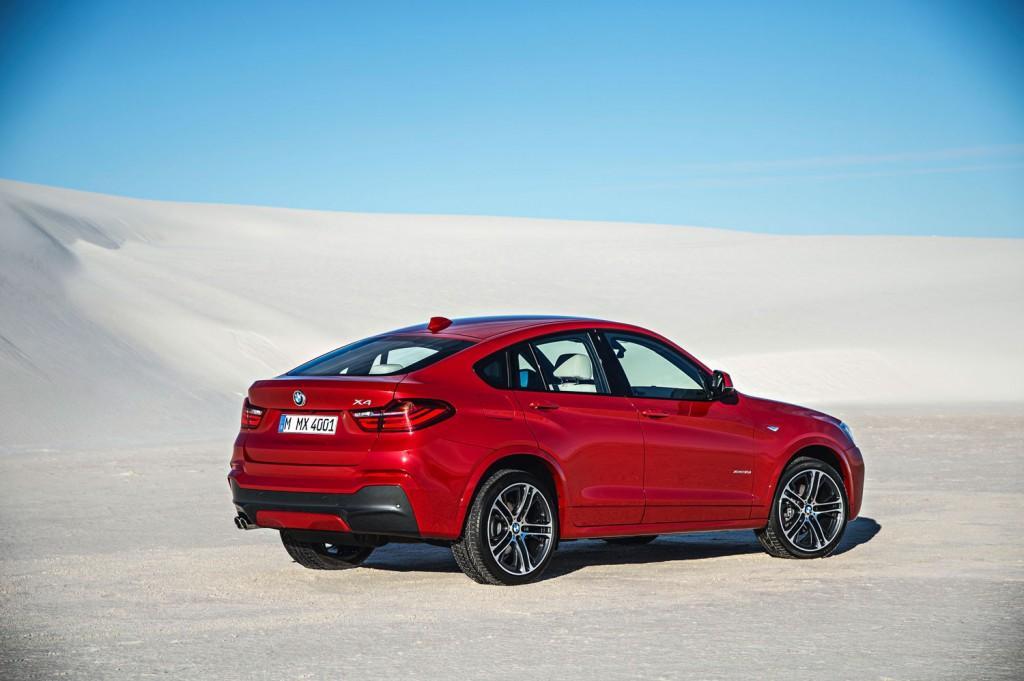 BMW X4 2014 Melbourne Rot metallic Heck
