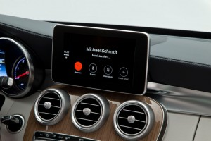Mercedes-Benz Apple CarPlay Telefonie