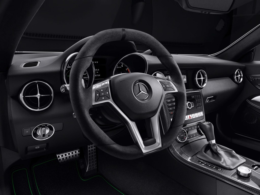 Mercedes-Benz SLK carbonLOOK Edition Interieur