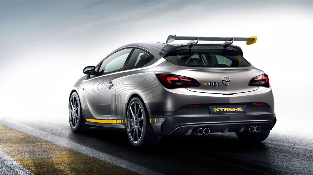 Opel Astra OPC Extreme 2014 Heck