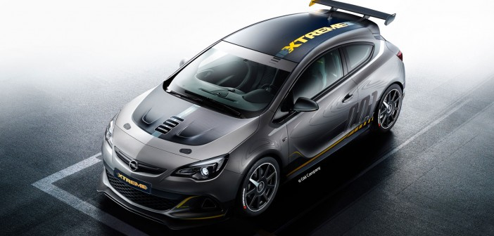 Opel Astra OPC Extreme 2014 Front-Top