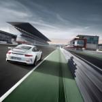 Porsche 911 GT3 auf der Rennstrecke