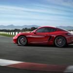 Porsche Cayman GTS auf der Rennstrecke