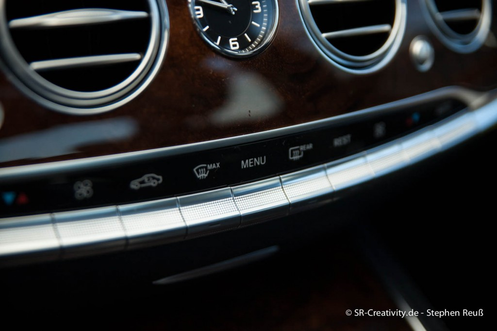 Mercedes-Benz S-Klasse 2014 (W222) Lüftungssteuerung
