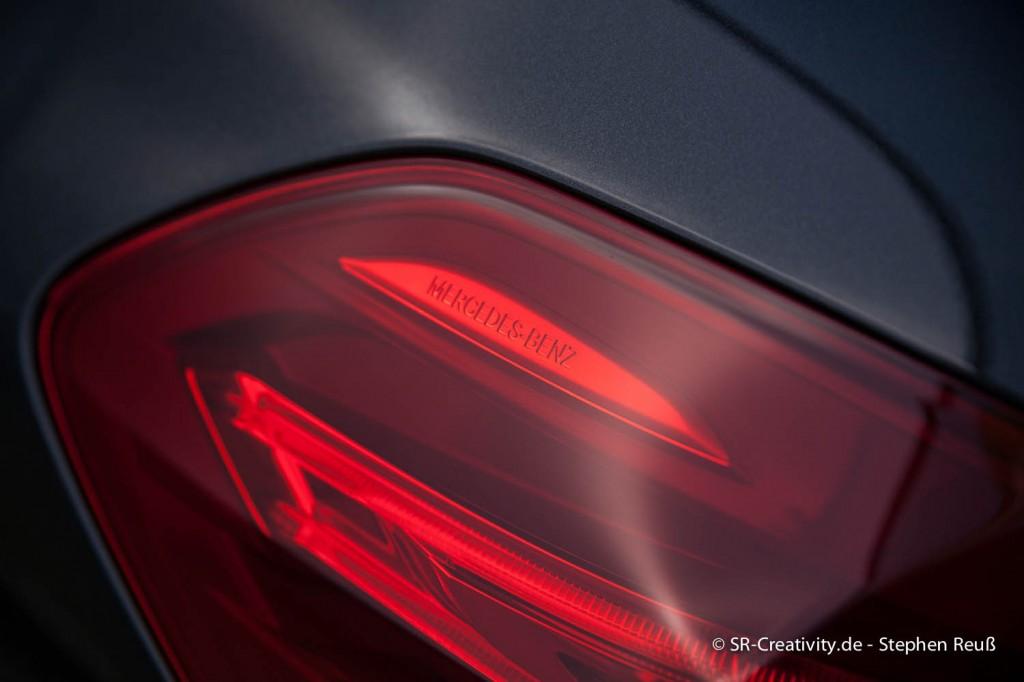 Rückleuchte der Mercedes-Benz S-Klasse (W222)
