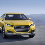 Audi TT Offroad Concept 2014 Front-Ansicht