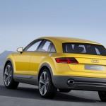 Audi TT Offroad Concept 2014 Heck stehend