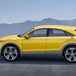 Audi TT Offroad Concept 2014 Seite Gelb
