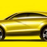 Audi_TT_Offroad-Concept_2014_Skizze_Seite_stehend_Gelb
