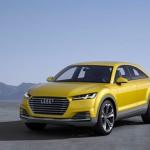 Audi TT Offroad Concept 2014 Front-Seite stehend Gelb