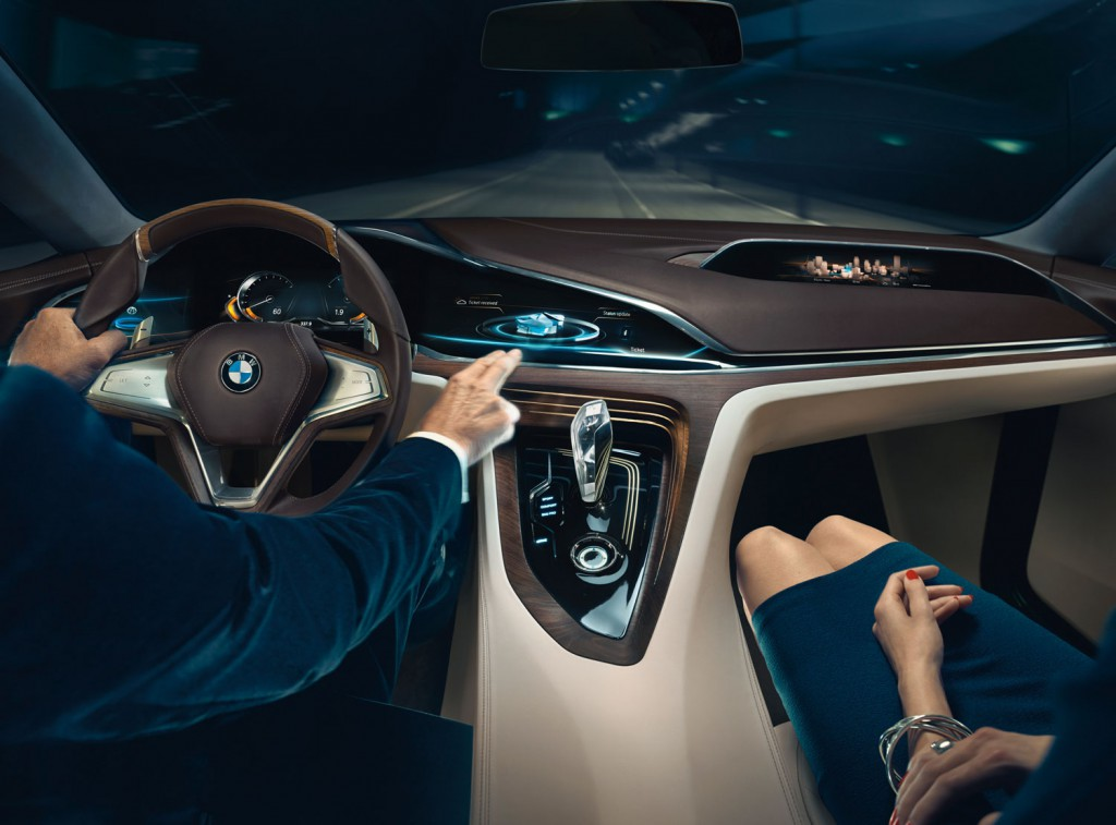 BMW Vision Future Luxury Cockpit