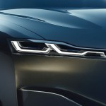 Laser-Light Scheinwerfer des BMW Vision Future Luxury