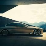Seite des BMW Vision Future Luxury