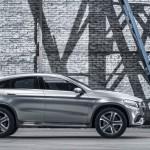 Mercedes-Benz MLC (C292) SUV Coupé Concept in Silber stehend Seite