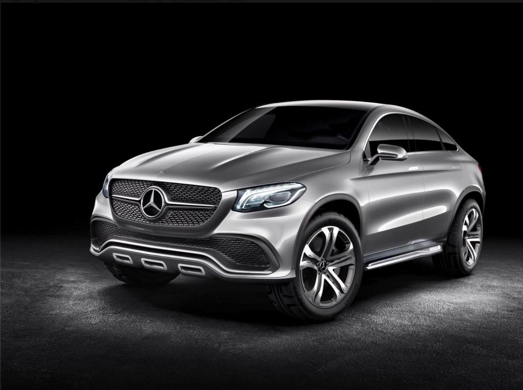 Mercedes-Benz SUC-Coupé Konzept MLC (C292)