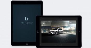Adobe Lightroom Mobile App für das iPad
