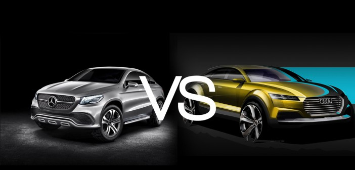 Duell der SUV Coupés Audi vs. Mercedes-Benz