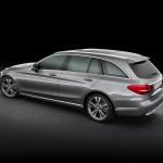 Mercedes-Benz C-Klasse T-Modell 2015 Heck AMG-Line