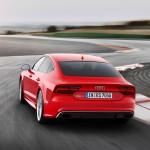 Heck des Audi RS 7 Sportback