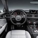 Audi RS 7 Sportback 2014 Interieur mit hellem und dunklem Leder