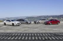 Alle vier Mercedes-Benz CLS Modelle