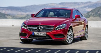 Mercedes-Benz CLS 2015 (C218) Facelift Front in Rot