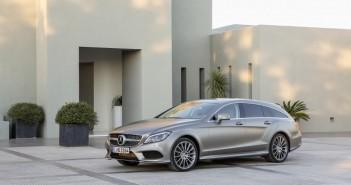 Mercedes-Benz CLS Shooting Brake (X218) 2015 Front