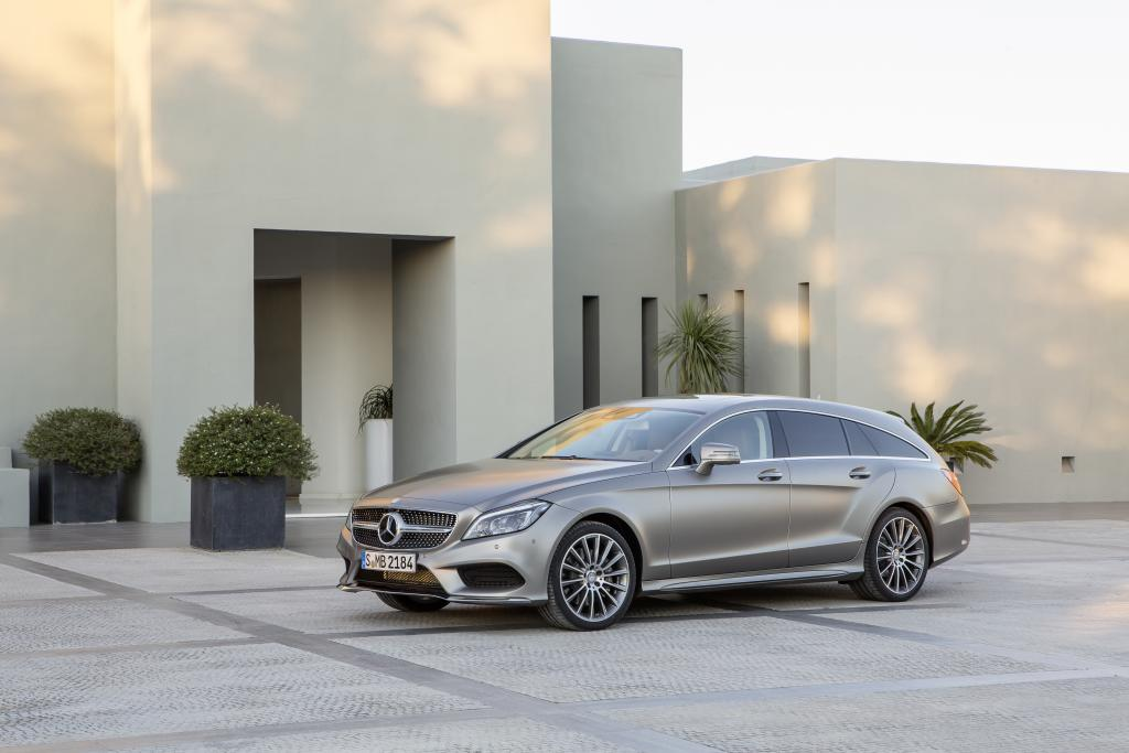Mercedes-Benz CLS Shooting Brake (X218) 2015 Front