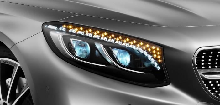 Mercedes-Benz S-Klasse Coupé (C217) Edition 1 Swarovski Kristall LED Scheinwerfer Blinker
