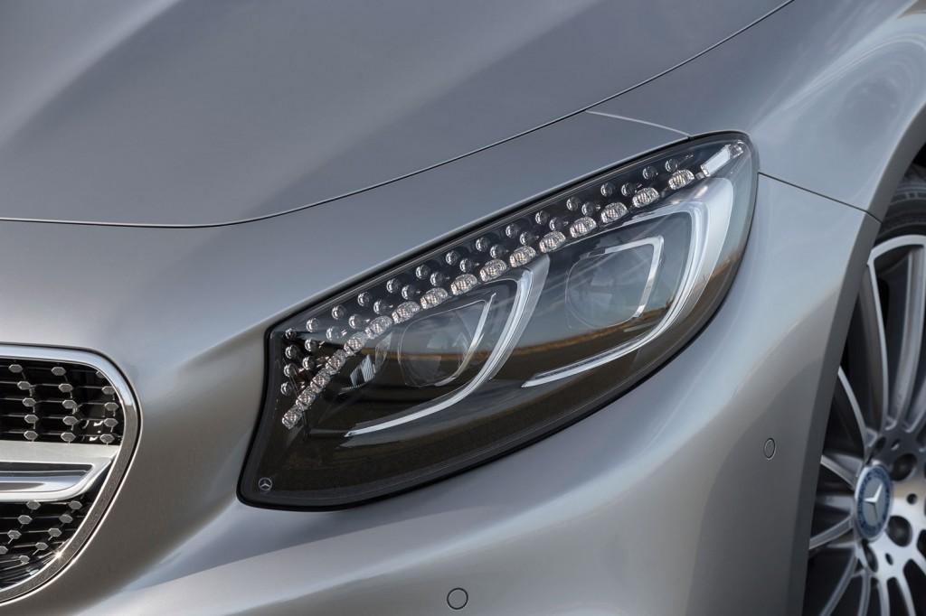 Mercedes-Benz S-Klasse Coupé (C217) Edition 1 Swarovski Kristall LED Scheinwerfer Tagfahrlicht