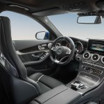 Mercedes-Benz C 63 AMG Interieur in schwarzem Leder