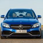 Mercedes-Benz C 63 AMG T-Modell (205) Brilliantblau Metallic Front