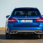 Mercedes-Benz C 63 AMG T-Modell (205) Brilliantblau Metallic Heck