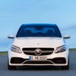 Mercedes-Benz C 63 AMG Limousine Designo Diamantweiß Bright Front
